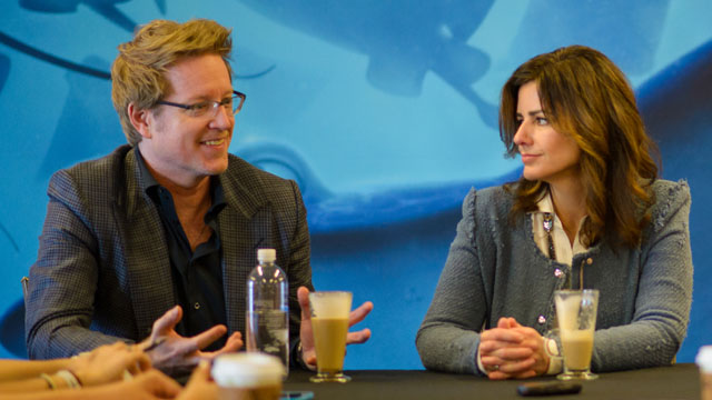 Lindsey Collins & Andrew Stanton